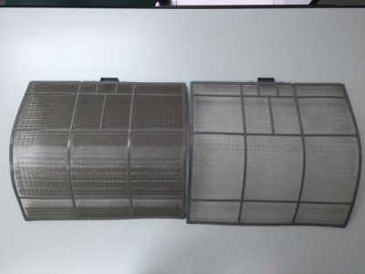 Limpieza filtros de aire acondicionado